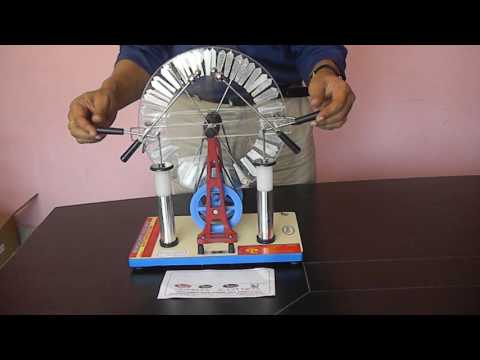 video physis wimshurt machine discharge spark generation high voltage electrostatic generator by abr