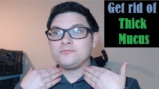 How to get rid of thick mucus from the throat (catarrh)