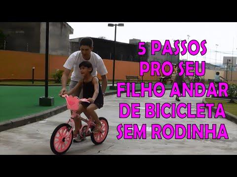 9bff80b97 BICICLETA SEM RODINHAS EM 5 PASSOS - YouTube