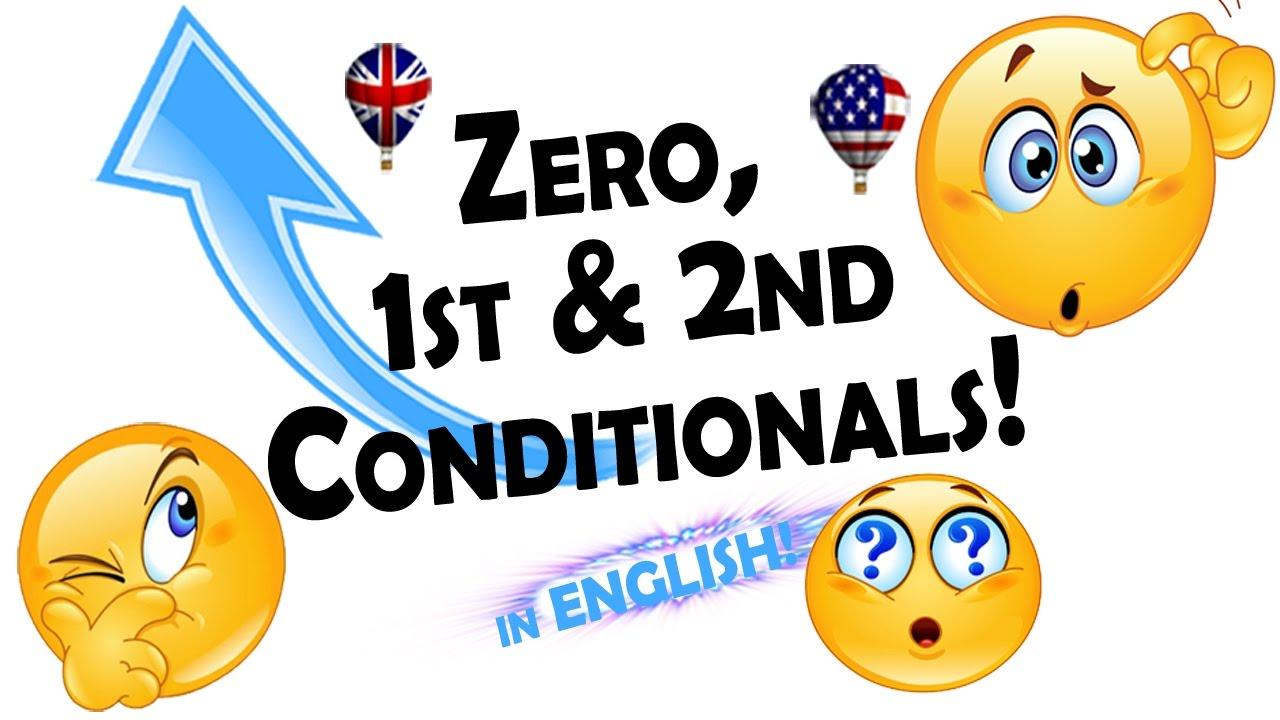 Conditionals Zero First Second English Grammar Videos