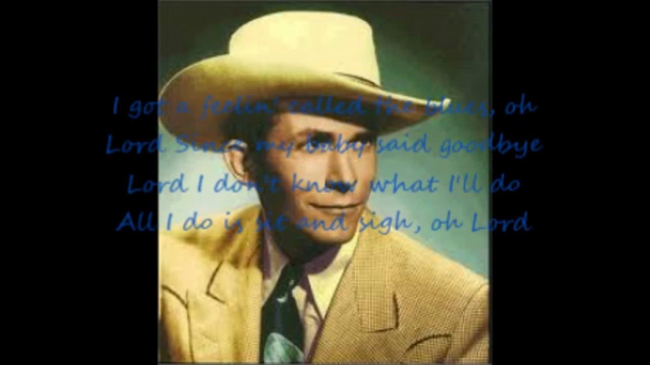 Lovesick Blues Hank Williams with Lyrics - YouTube