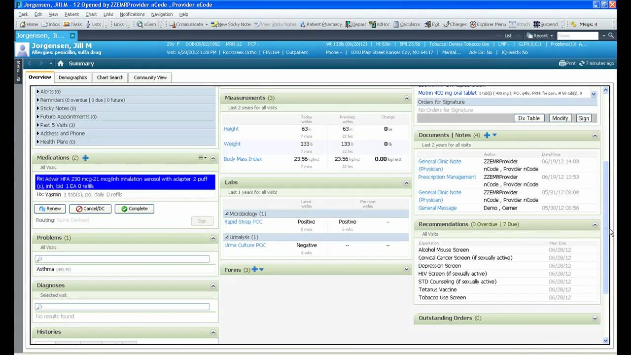 cerner powerchart ambulatory ehr family practice demonstration youtube rh youtube com cerner powerchart user guide free books cerner powerchart user guide free books
