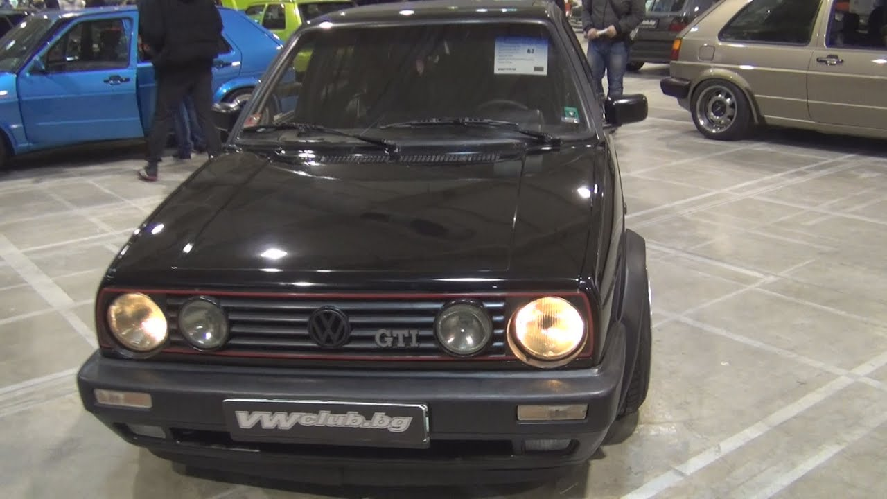 Volkswagen golf mk2 gti 1990 exterior and interior in 3d for Interior golf mk2