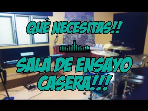 Sala de Ensayo Casera - Qué Necesitas