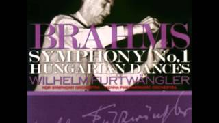 Brahms: Symphony #1 In C Minor, Op. 68 - 1. Un Poco Sostenuto, Allegro - Wilhelm Furtwängler (1951)