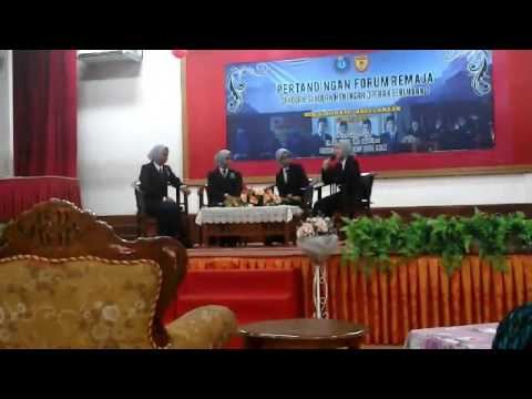 Pertandingan Forum Remaja 2017 Final SMK Seri Sendayan
