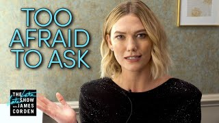 Karlie Kloss Answers Questions f/ Reddit's 'Too Afraid To Ask'