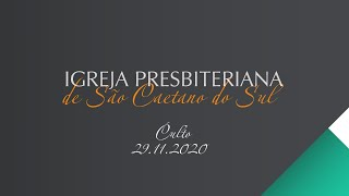 Culto 29.11.2020