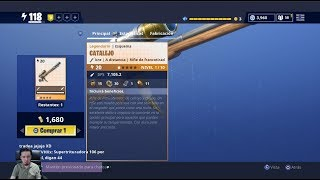 Testing New weapon COBRE CATALEJO Is it good ? SAVE THE WORLD Fortnite d