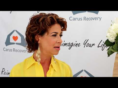 Carus Recovery  EcoLuxe Lounge  Gretchen Rossi  Claudia Wells