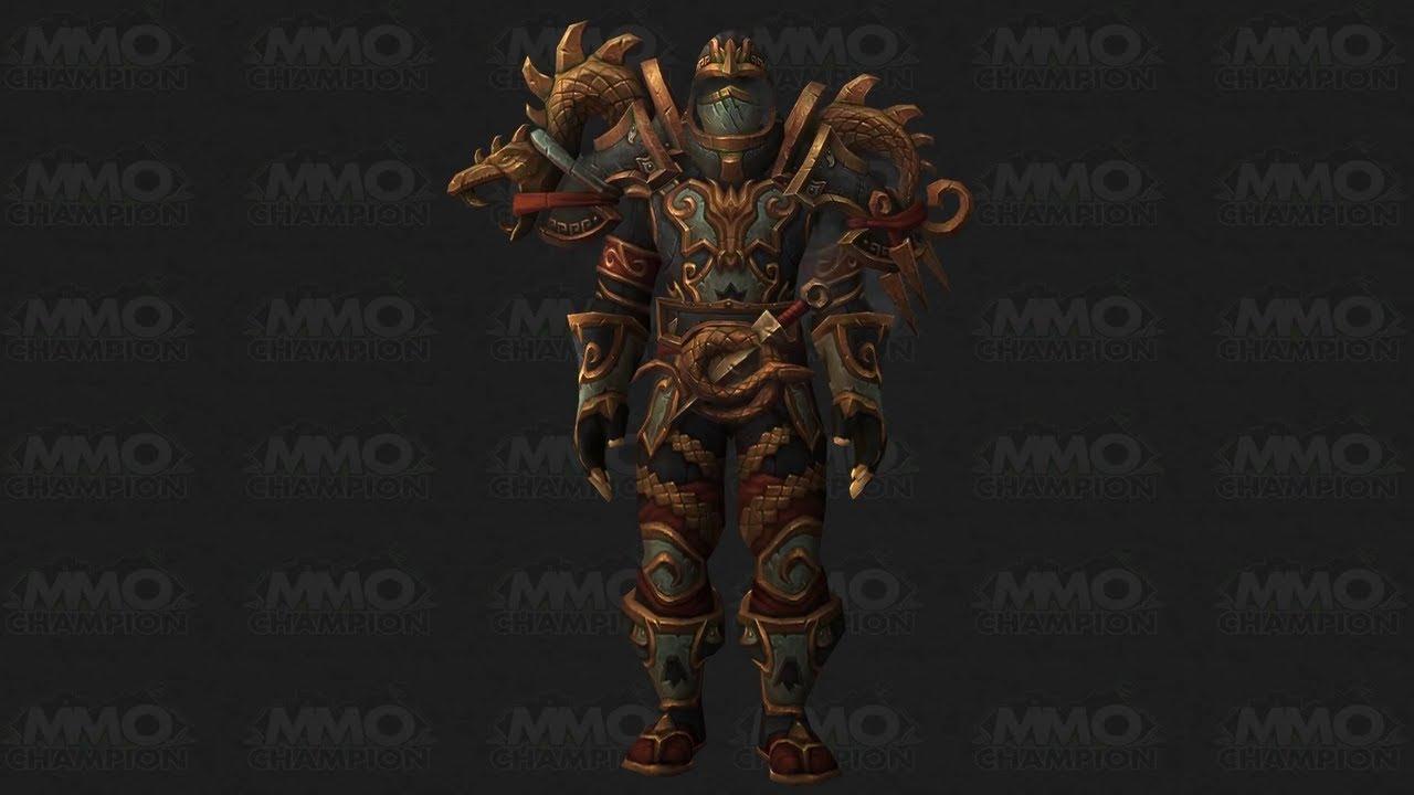 Mists Of Pandaria Challenge Armor Set Rogue