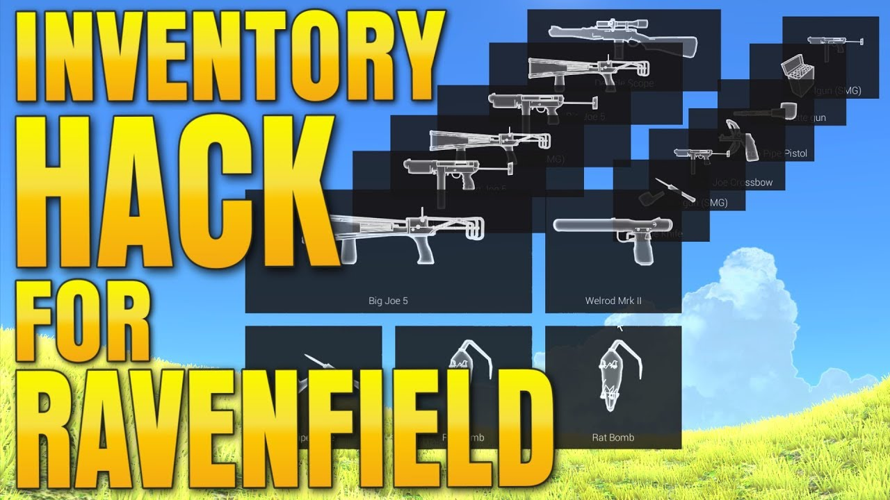 ANY GUN! ANY SLOT! Ravenfield PRO Inventory HACK (Make Ravenfield Great  Again) by iwanPlays