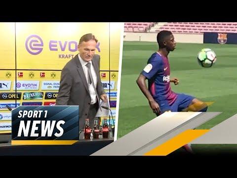 Dembele verletzt: Muss der BVB jetzt auf Zahlungen verzichten?   SPORT1 - Der Tag