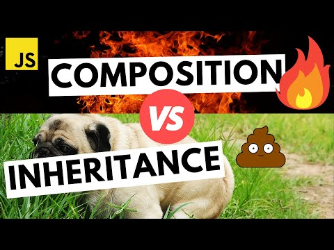 Why You Should Choose Composition Over inheritance | JavaScript OOP Tutorial