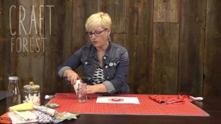 Upcycle Glass Jars with Scrap Fabric