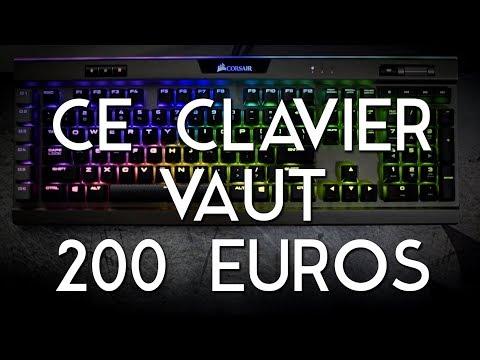 ON TESTE UN CLAVIER À 200 EUROS ! - Corsair K95 RGB Platinum [Review]