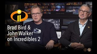 Brad Bird and John Walker on Jack-Jack's Powers, A Frozone Movie and more