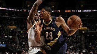 Repeat youtube video Anthony Davis Rocks Out for 30 Points in Cleveland