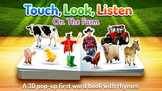 On The Farm ~ Touch, Look, Listen - Best App For Kids - iPhone/iPad/iPod Touch