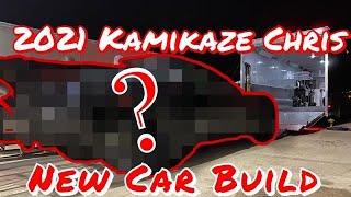 Kamikaze Chris New Car after the crash