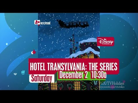 Disney Channel HD US 25 Days of Christmas Adverts and Ident 2017