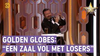 RICKEY GERVAIS doet weer GOLDEN GLOBES! - The Graham Norton Show