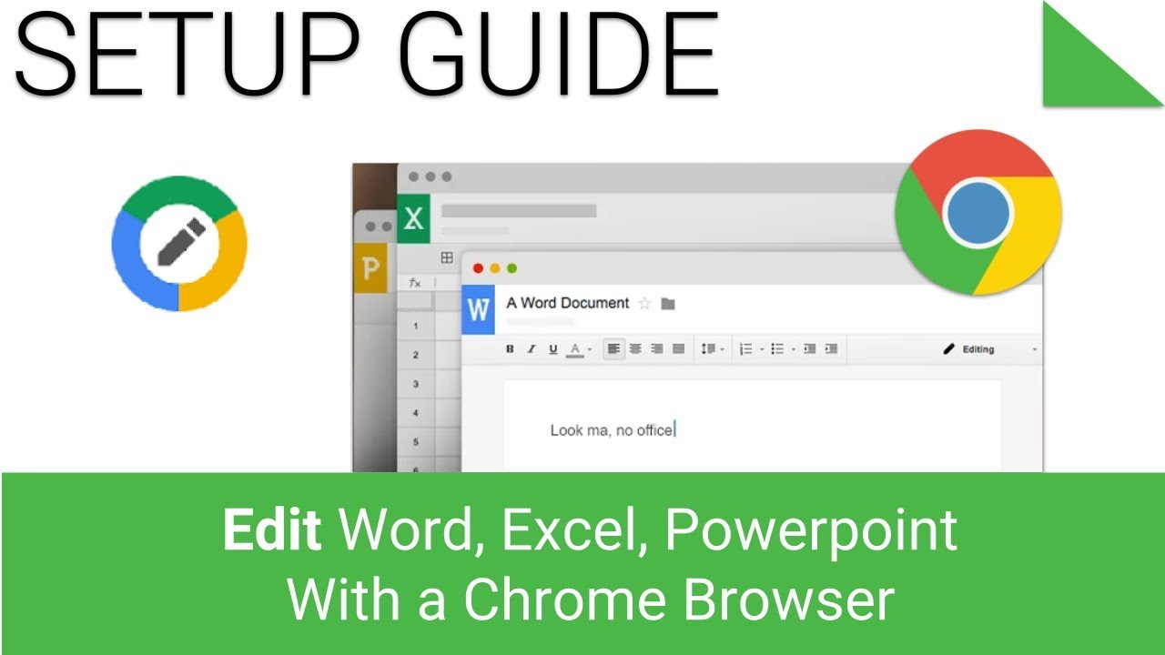 how to edit word excel power point with a chrome browser youtube