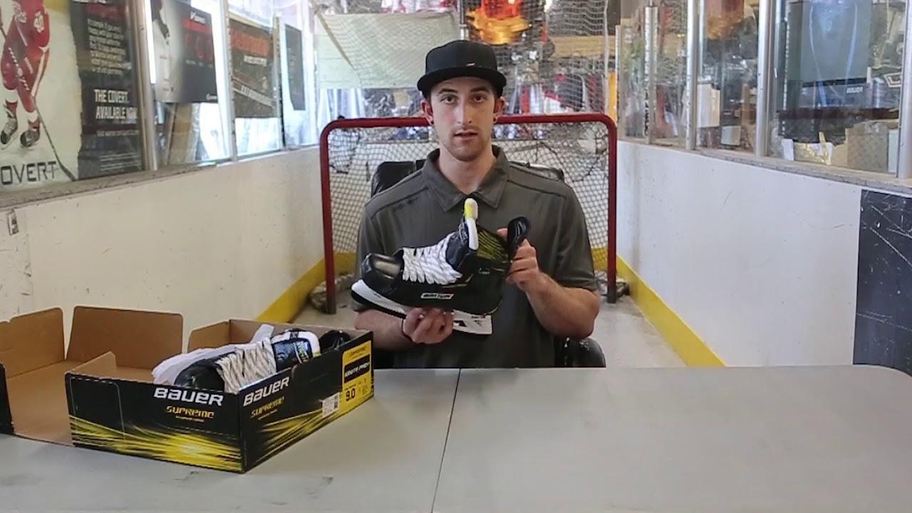 2018 Bauer Supreme Ignite Pro Ice Skates Review