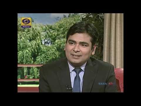 CA Amit Arora - State Election Commissioner IAS Sanjay Srivastava - Aaj Savere - DD