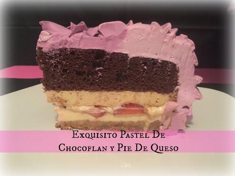 Pastel Chocoflan Y Pie De Queso/Tri Imposible