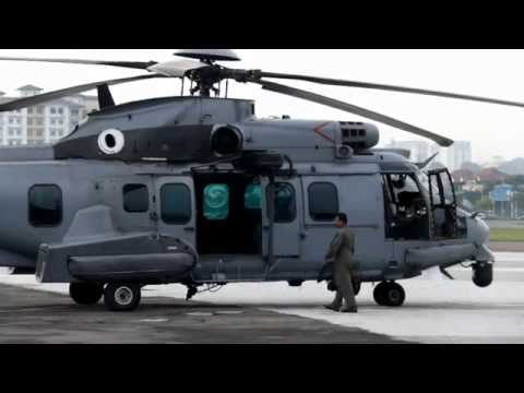 A Short Hop On RMAF H225M Helicopter