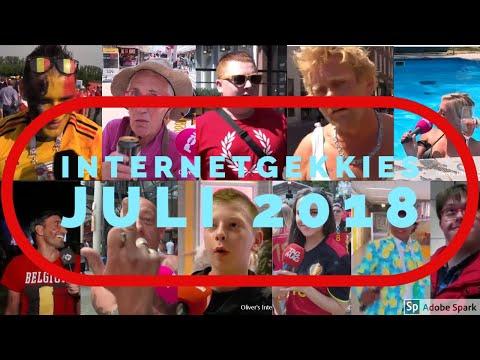 De Internetgekkies van de maand Juli 2018