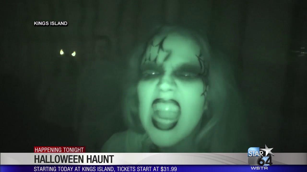 halloween haunt at kings island opens friday - youtube