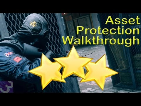 Rainbow Six Siege Situations - Asset Protection - Walkthrough