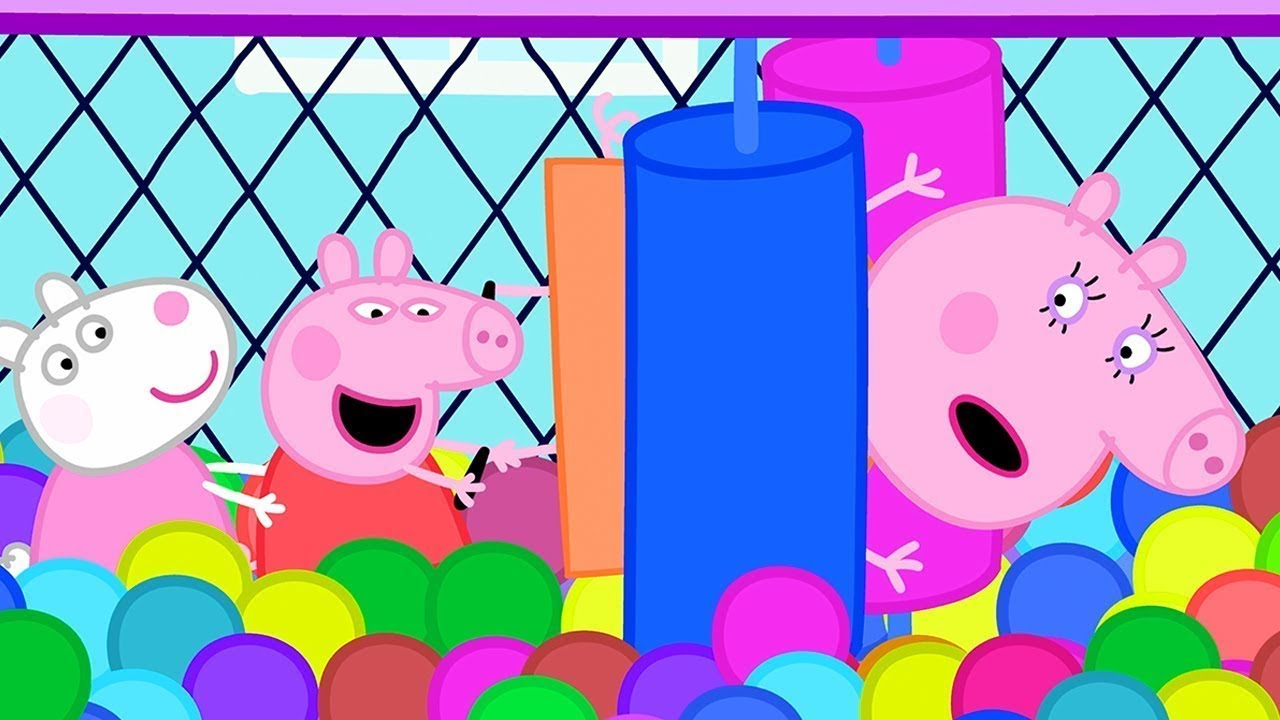 Peppa Pig Official Channel ???? Peppa Pig Loves Soft Play