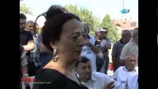 Yanık Köyü'nde taş ocağına 'HAYIR'! Köy Muhtarı Sibel Baykal'ın konuşması