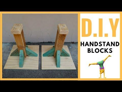 D.I.Y handsatand blocks - how to make! (Acro, Gym, Yoga)