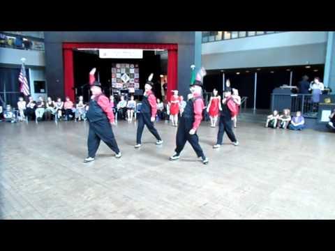 Savoy Swing Club Performance Troupe - NW Folklife 2012 - Charleston Medley