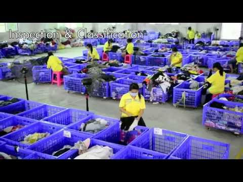 Used clothes Industry (Sunshine Trading H.K. Co.) HD