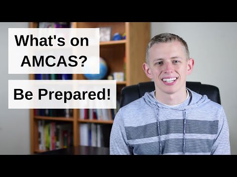 AMCAS Medical School Application Overview