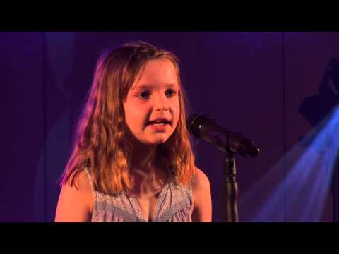 SING – GARY BARLOW performed by ELLA MAY at TeenStar singing contest
