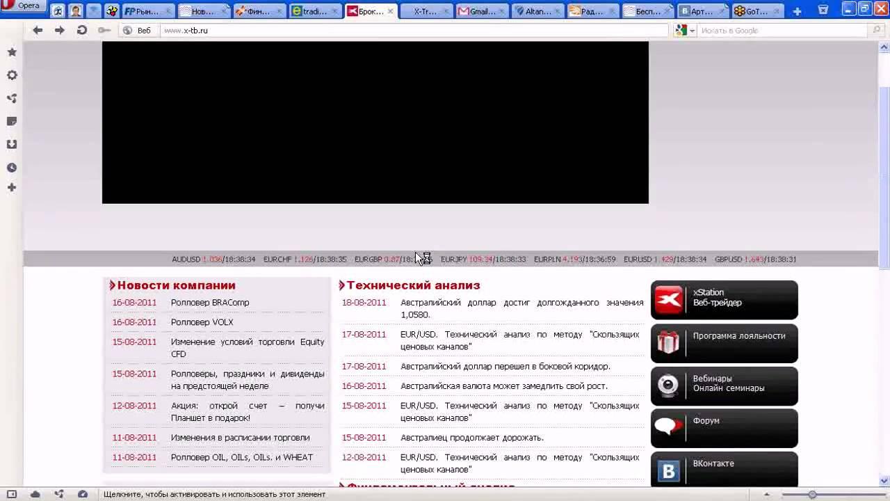 ТС скользящих ценовых каналов В. Баришпольца