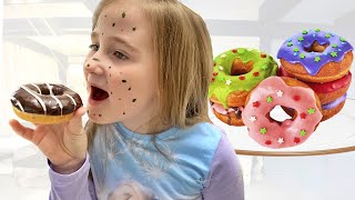 Annie and funny story about donuts