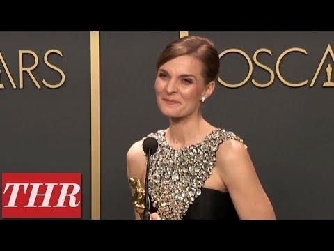 Oscar Winner Hildur Guðnadóttir Full Press Room Speech | THR