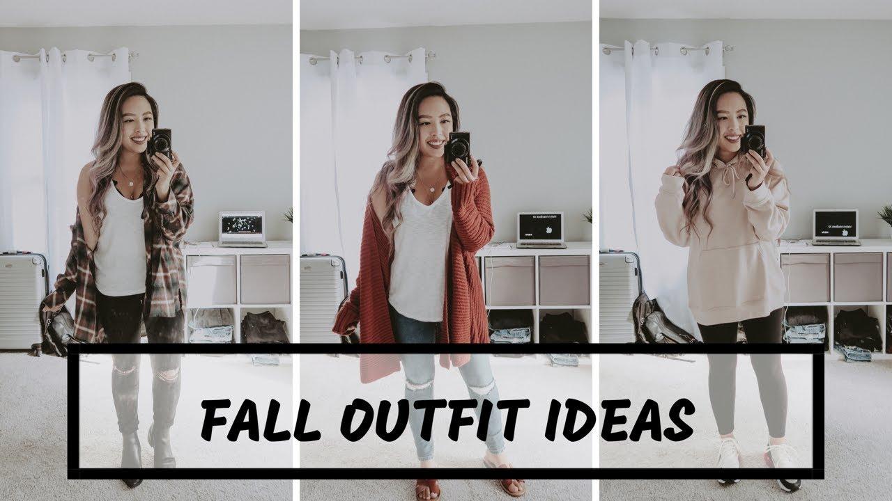 [VIDEO] - FALL OUTFIT IDEAS 2019 | mallysfashion 1