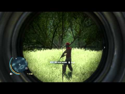 Far Cry 3: Sniper Rifle, Bow and Arrow, Weapon Customization