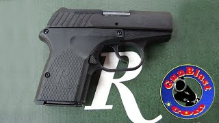 Shooting the Remington RM380 Semi-Automatic 380 Pocket Pistol - Gunblast.com