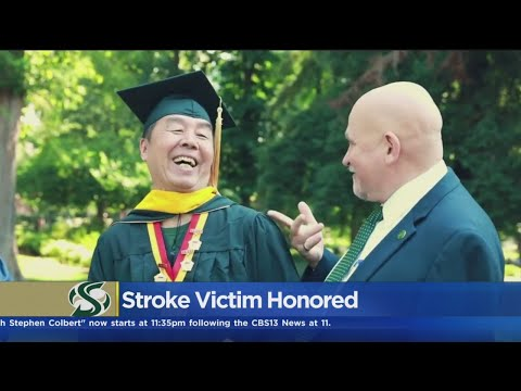 Beloved Sac State Personality Celebrates Graduation 25 Years After Stroke Forced Him To Miss Commenc