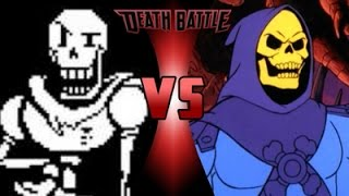 skeletor vs papyrus - 750×421