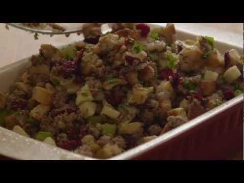 Save How to Make Awesome Sausage, Apple, and Cranberry Stuffing Images
